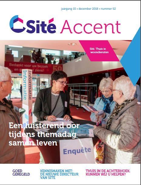 Nieuwste editie Sité Accent op de mat